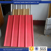 color coated corrugated steel sheet for container house