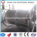 PE depósito dosificador rotomoldeo / tanque químico redondo / 200 litros tambor de plástico de plástico
