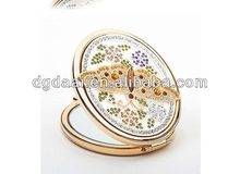 Fashion cosmetic compact mirrors professional make up mirror