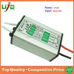 5W dc-dc LED Driver for solar led lights power supply