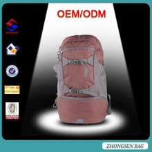 Rain cover 36L nylon mountaineering climbing camping backpack, military hiking laptop backpack