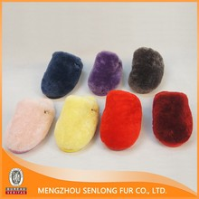 Amazing Soft Indoor Outdoor Warm Lamb Fur Slippers