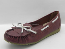 Russian 2015 red hot sale famous designer mocassins, driver boat shoes low price women cheap loafer