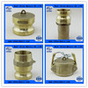 various brass camlock coupling type DC