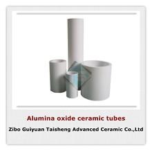 Al2O3 alumina ceramic tubes,diameter from 50mm to 750mm,zibo guiyuan taisheng manufacturer