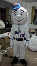 adult size mr met costume/ met mascot