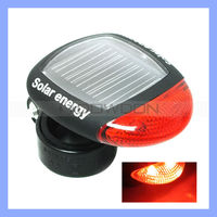 Cheap Promotional 2 LEDs Solar Energy Bicycle Light