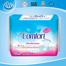 importer and expoter comfort sanitary napkin factory in fujian china