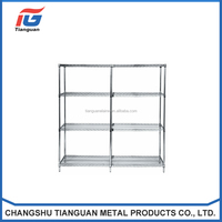 Trade Assurance hot Selling Powder Coating Wire Shelves