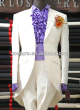 Design Wedding bespoke Suit for man Pictures High Quality 100% Woolen Indian top brand coat pant men suit design 2013 MS038