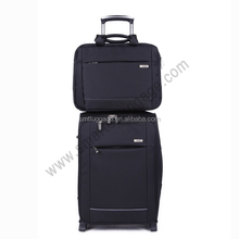 Cheap Eva Polyester Trolley Luggage for low end market