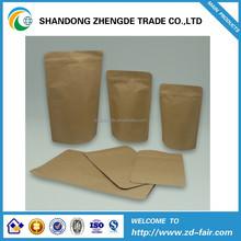 Stand up paper bag with zipper/ tea bag/ coffee bag