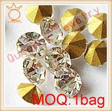 Hot fix rhinestones the best quality in the world!14-16 facets real crystals hot fix rhinestone