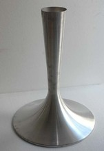 Modern furniture metal spinning tulip table base assembly