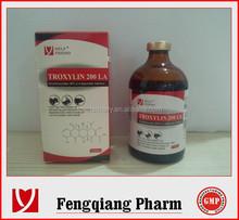 Oxytetracycline Injection 5% Chinese best veterinary antibiotics
