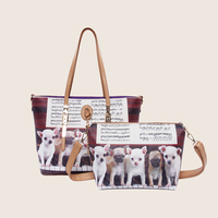 2014 china hotselling dog design fashion handbag