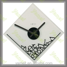 New Arrival Glass wall clock child