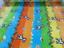 Animal Printing Home Textile Fabric Coral Fleece Flannel Fabric