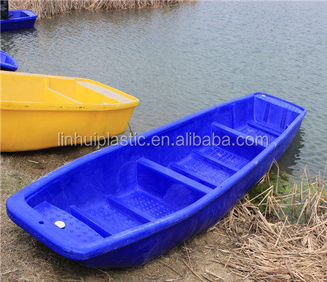 2 7 meters small plastic rowing boat dinghy fishing for Small plastic fishing boats