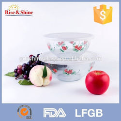 2015 best sell heat resistant glass bowl better than collapsible dog bowl