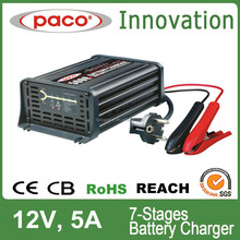Trade Assurance 5Amp Automatic Constant Current Voltage Battery Quick Charger for Car