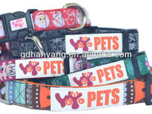 C102 wholesale nylon dog training collar leash