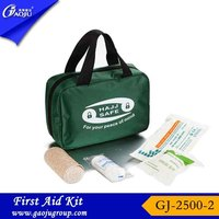Free sample available comfortable medical car first aid kit