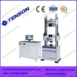 WAW 10Ton - 200Ton Steel Bar , Steel Board Tensile Strength Testing Machine