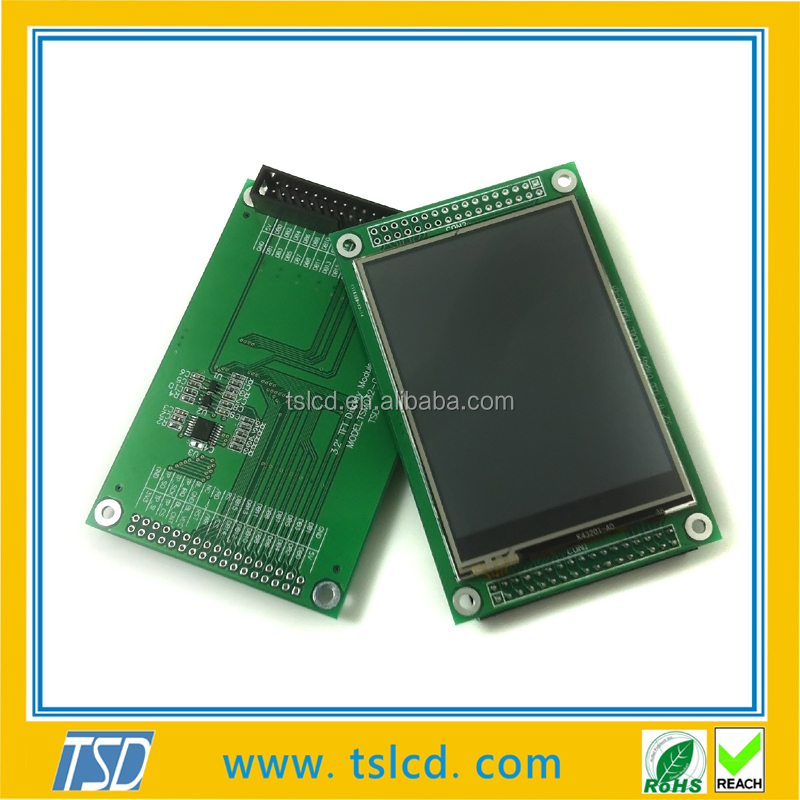 3.2 Inch Lcd Qvga 320x240 Resolution Tft With Rtp Touchscreen ...