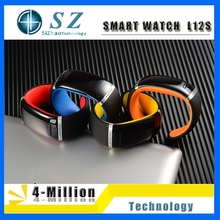 Smart Wristband L12S OLED Bluetooth Bracelet Wrist Watch Design for IOS iPhone Samsung & Android Phones Wearable Electronic