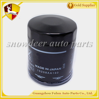 Good performance competitive price auto engine Oil Filter for used car 15208 - AA160 15208 - AA080