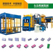 QT 10-15 fly ash brick machine line and automatic concrete new technology brick machine