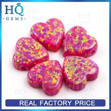 Ethiopian Heart Synhtetic Opal Cabochon