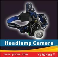 waterproof 1080p headlight cctv camera sport dv