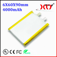 3.7v 4000mah Li-ion polymer battery special in 2014