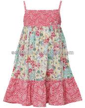 nueva llegada de verano sheeveless ropa de niñas