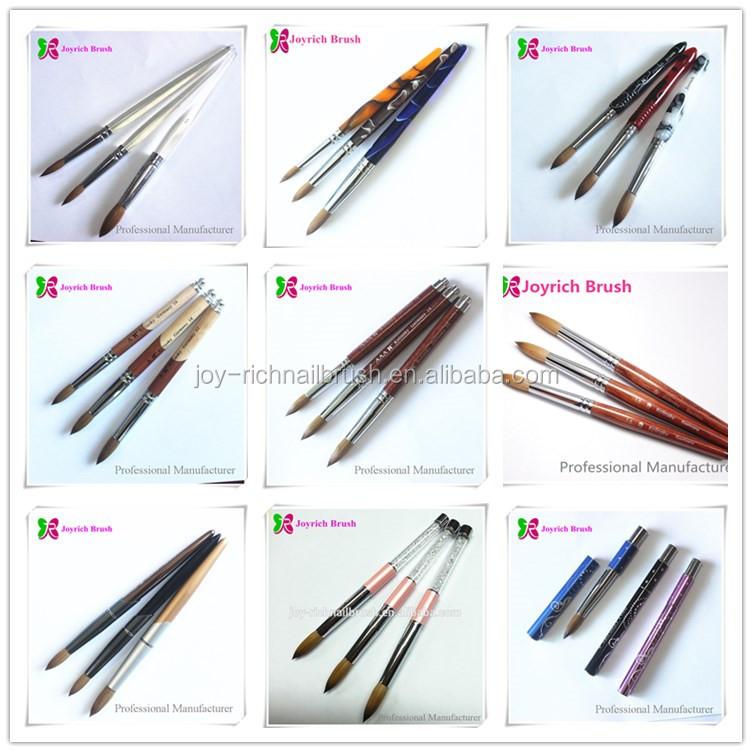 Kolinsky Germany Joyrich Bacrylic Brush Nail Art Free Private Label Jpg