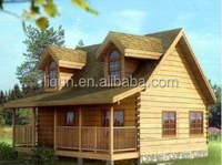 Newly designed low cost cheap prefab wooden house for sale