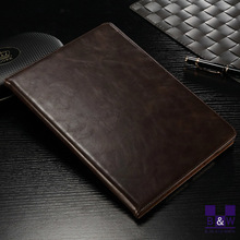 New for ipad case/pu leather flip covers/stand holder for ipad air 2 case