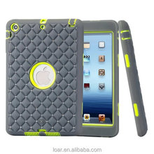 Rhinestone Tough Cover For Ipad Mini 1 2 3 Heavy Duty Case Shockproof 6 Colors