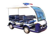 Patrol Car / Electric Utility Golf Cart for Police Sightseeing Seeing / DLP608-2