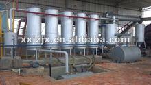 JZ Black Engine Oil Distillation Diesel Equipment / Used Oil to Diesel Oil Recycling Machine