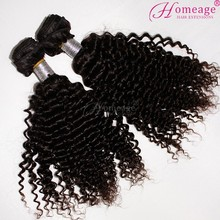 homeage 2015 best selling good feedback combodian kinky curly hair weaves