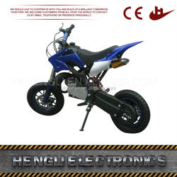 Hot selling good quality 50cc 2 stroke mini dirt bikes