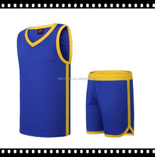 100 %Polyester Basketball Training Set With Free Design For Men