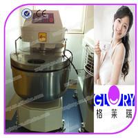 Double Motions and Double Speeds dough mixer machine 122KG Flour Spiral Dough Mixer for CE