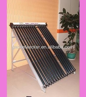 Pressurized Solar Collector For Home Use