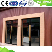 high quality wood plastic composite house