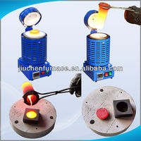4kg Small Jewelry Melting Furnace for Goldsmith Equipments