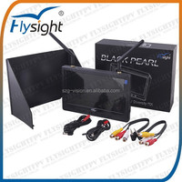 C888 7 inch LCD TFT FPV Monitor HD 1024X600 No blue Screen for Aerial Photography